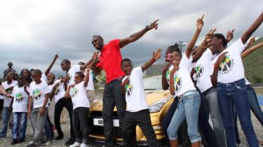Usain Bolt gets Nissan GT-R