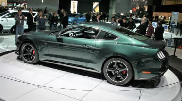 Ford Mustang Bullitt – rear quarter