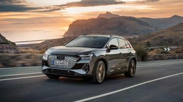 Audi Q4 e-tron – tracking