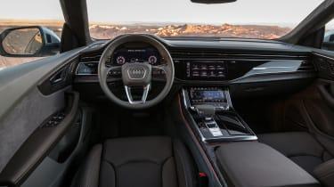 Audi Q8 – interior