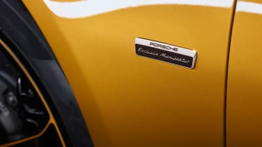 Porsche 911 Turbo S Exclusive Series - Wing badge