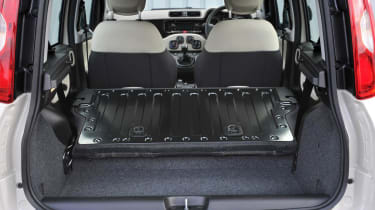 2013 Fiat Panda Trekking boot space load bay