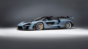 McLaren Senna – side