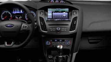 New Ford Focus ST dashboard