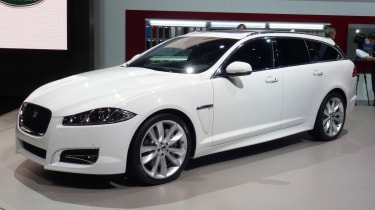 Geneva 2012: Jaguar XF Sportbrake