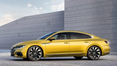Volkswagen Arteon - side profile