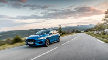 Ford Focus ST-Line review - nose