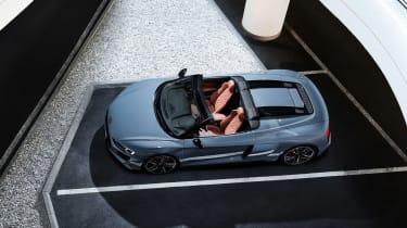 Audi R8 V10 Performance RWD – Spyder top