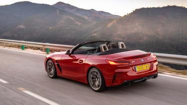BMW Z4 M40i - rear quarter