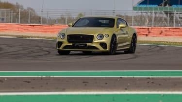 Bentley Continental GT Speed UK – front heavy load