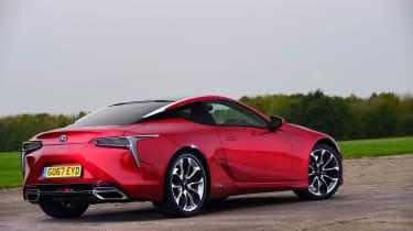 Lexus LC 500h - rear quarter