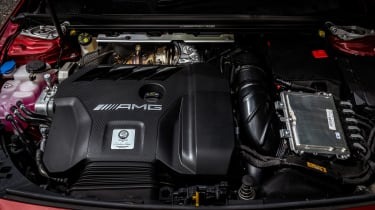 Hot hatchback triple – engine AMG