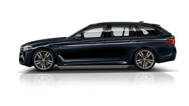 BMW M550d xDrive profile