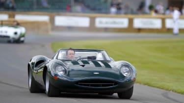 Richard Meaden drives Jaguar XJ12 at the Goodwood Festival of Speed