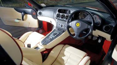 Ferrari 550 Maranello interior