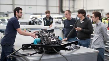 2017 Aston Martin Vantage GTE – gearbox