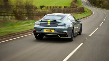 Aston Martin Rapide AMR rear