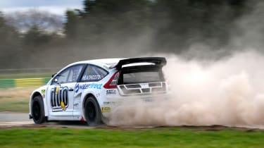 RallyCross Citroen C4 rear