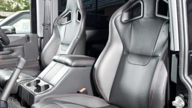 Urban Truck's ultimate Defender Recaro seats