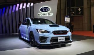 Subaru WRX STI S208 - live front