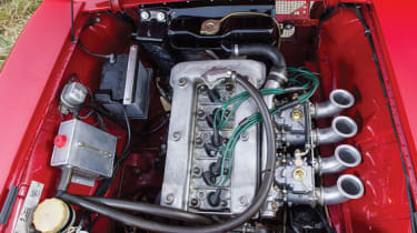 Alfa Romeo Giulia Sprint GTA - Engine