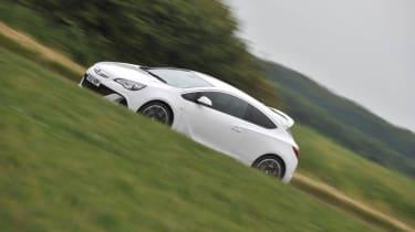 2012 Vauxhall Astra VXR side profile