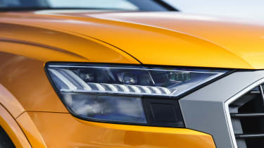 Audi Q8 Vorsprung – headlight