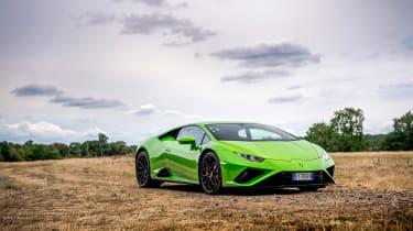 Lamborghini Huracán Evo RWD – front quarter static
