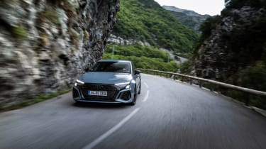 2022 Audi RS3 Sportback –front tracking