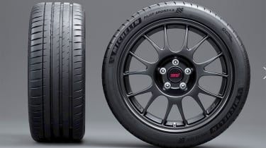 Subaru WRX STI Type RA-R - wheels