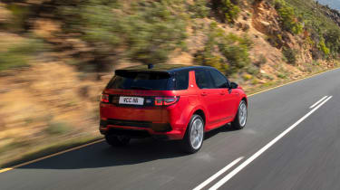 Land Rover Discovery Sport - rear quarter