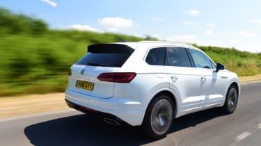 Volkswagen Touareg UK drive - rear quarter