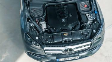 Mercedes GLS - engine