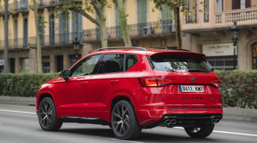 Ateca Cupra - red rear quarter
