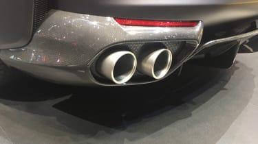 Ferrari 812 Superfast - Geneva exhaust pipe