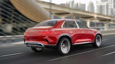 Maybach monstrosity - rear driving