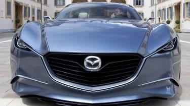 Mazda Shinari concept car at Milan