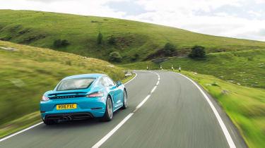 Porsche 718 Cayman S - Rear