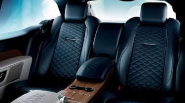 Range Rover Coupe SV - interior blue