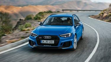 Audi RS4 Avant - front