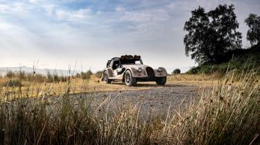 Morgan Plus Four CX-T – front