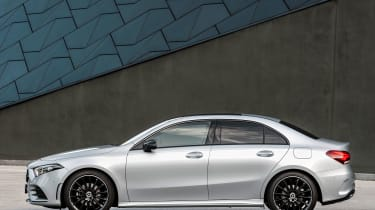 Mercedes-Benz A-class saloon – side