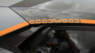 Lamborghini Aventador Goodwood special badge