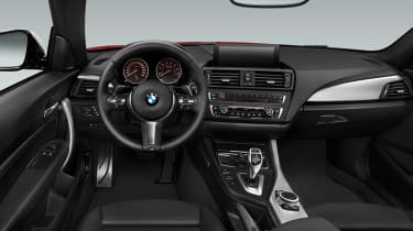 BMW 2-series coupe interior dashboard