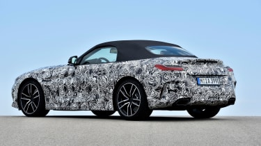 New 2019 BMW Z4 – rear quarter