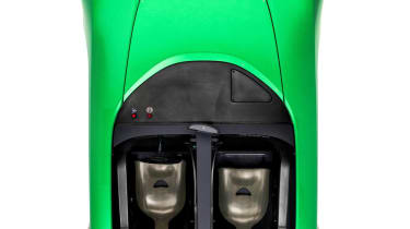 Caterham AeroSeven Concept sports car overhead cockpit