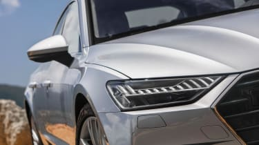 Audi A7 – headlights