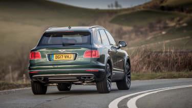 Bentley Bentayga Diesel - rear tracking