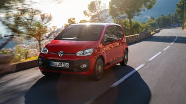 Volkswagen Up GTI 2018 tracking
