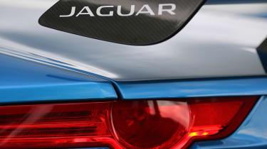 Jaguar F-type Project 7 rear spoiler